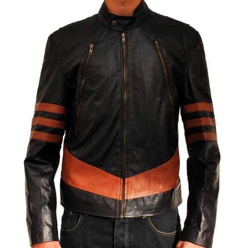 Hugh Jackman X Men Origins Wolverine Leather Jacket