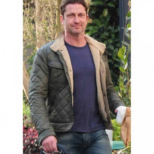Hunter Killer Geared Butler Quilted Jacket