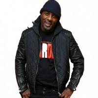 Idris Elba Yardie Black Leather Jacket