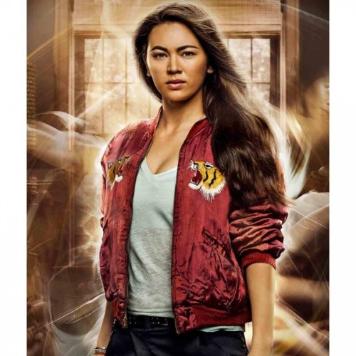 Iron Fist Colleen Wing Red Bomber Jacket