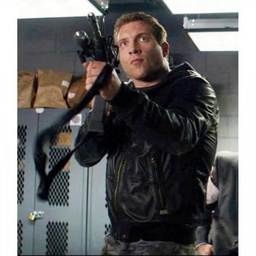 Jai Courtney Genisys Terminator Black Jacket