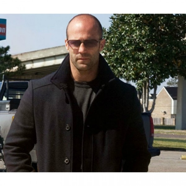 Jason Statham Black Long Coat