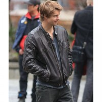 John Young Luke Mitchell Leather Jacket