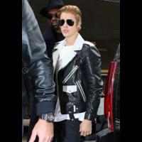 Justin Bieber Black Stylish Leather Jacket