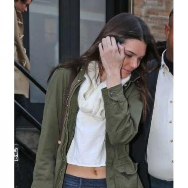 Kendall Jenner Designers Green Jacket