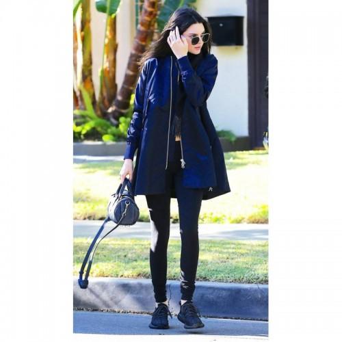 Kendall Jenner Long Bomber Jacket
