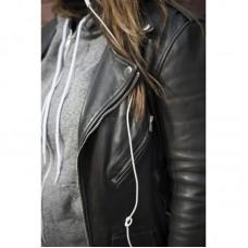 Kendall Jenner New Stylish Black Leather Jacket