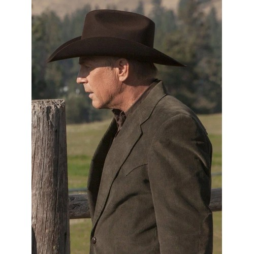 Kevin Costner Yellowstone John Dutton Blazer Coat