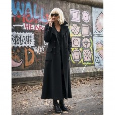 Lorraine Broughton Atomic Blonde Long Wool Coat