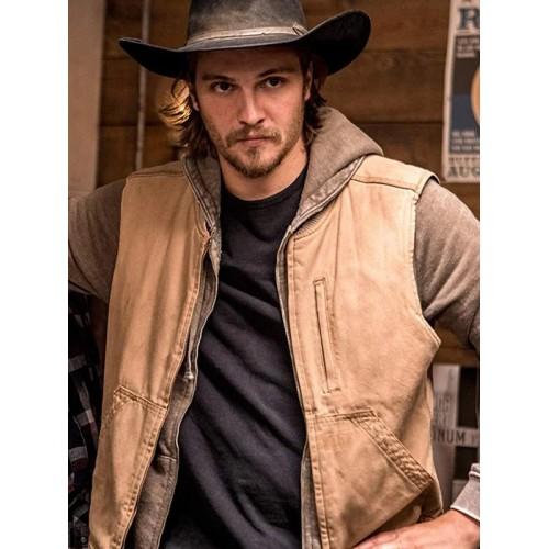 Luke Grimes Yellowstone Kayce Dutton Vest