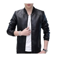 Mens Hot Style Motorcycle Leather Jacket