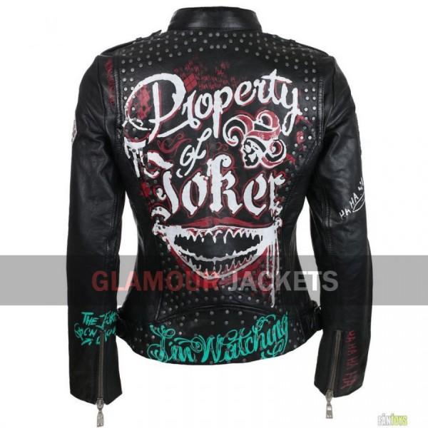Property Of Joker Suicide Squad Women Jacket