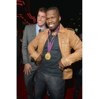 Rapper 50 Cent Leather Jacket