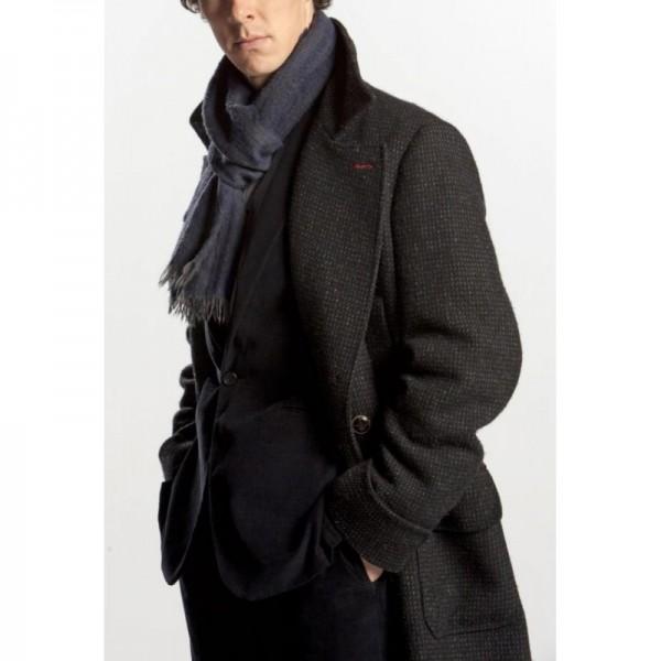 Sherlock Holmes Leather Coat