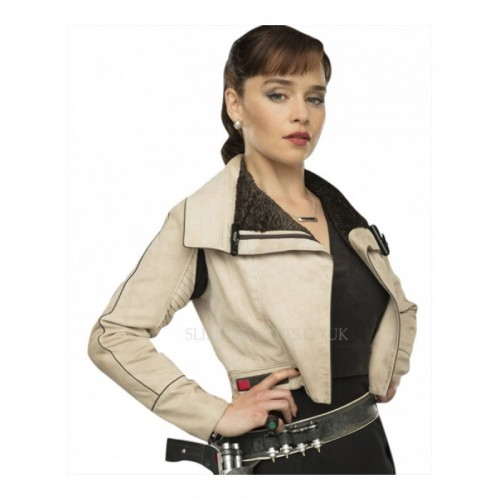 Solo A Star Wars Story Qira Leather Jacket