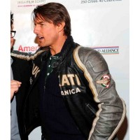 Tom Cruise Ducati Meccanica Leather Jacket