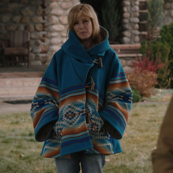 Yellowstone Beth Dutton Blue Jacket