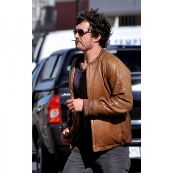 Zulu Orlando Bloom Leather Jacket
