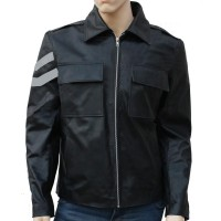 Property Of Joker Harley Quinn Leather Jacket