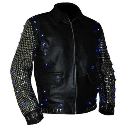 Chris Jericho Light Up WWE Leather Jacket