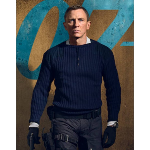 No Time To Die James Bond Sweater