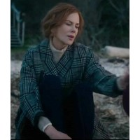 The Undoing Nicole Kidman Checked Coat