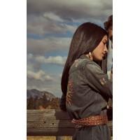 Yellowstone Monica Dutton Long Denim Coat